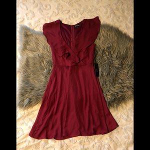 Lulu's flowy sleeve dress